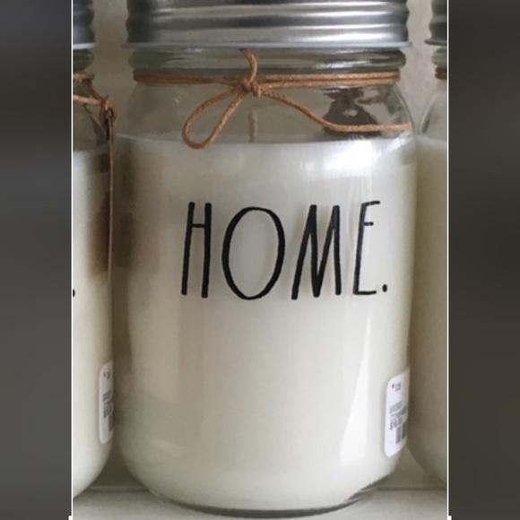 Rae Dunn Candle Home Gardenia Scent